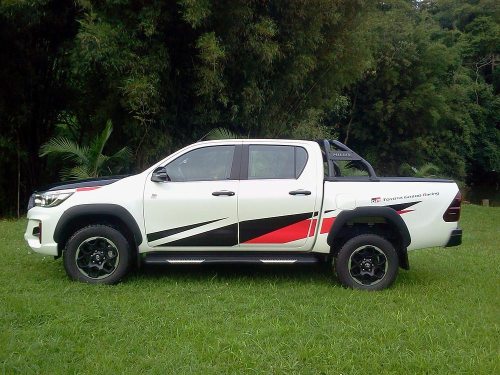 Avaliação: Toyota Hilux GR-Sport, a esportividade na robusta picape japonesa