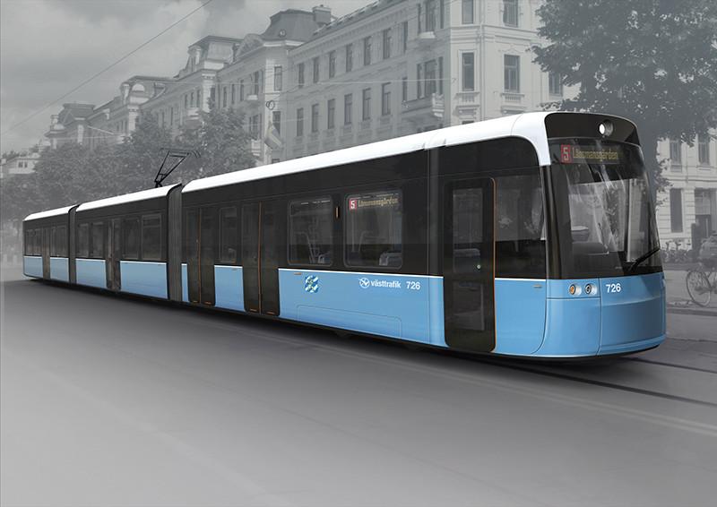 Bombardier e Vossloh Kiepe vão entregar quarenta VLT para a cidade de Gotemburgo