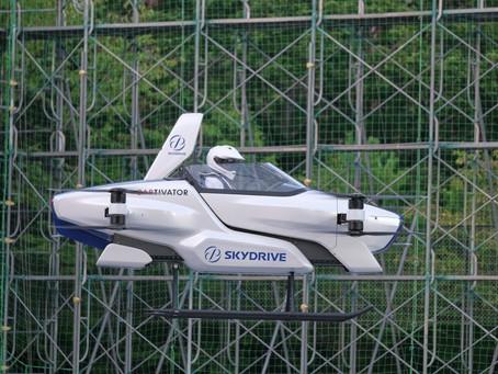 Expressas: Carro voador Skydrive, perto de virar uma realidade