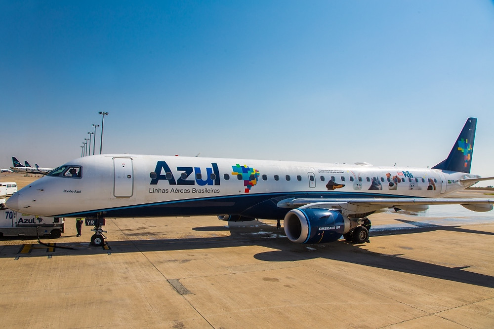 Azul e Universal Pictures personalizam aeronave em campanha de divulgação de 'Pets – A Vida Secreta dos Bichos'