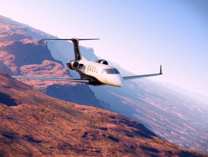 Aviação: Embraer estende intervalo de revisão dos jatos Phenom para 800 horas de voo