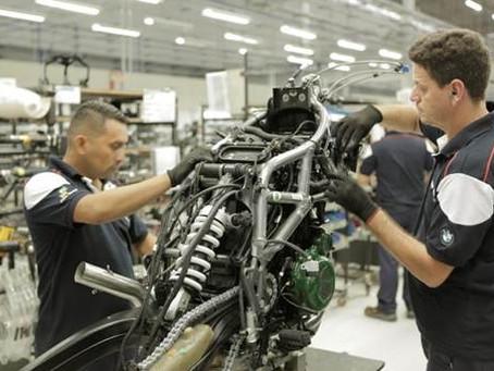 Nova fábrica do BMW Group em Manaus inicia produção de motocicletas