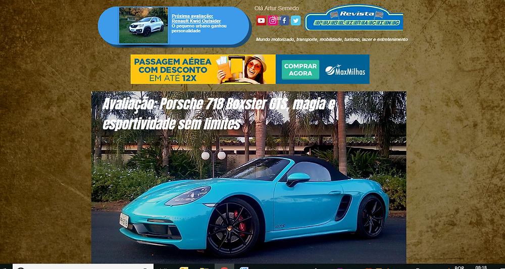 Mais moderno, dinâmico e interativo, portal da Revista Publiracing é atualizado