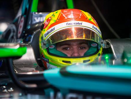 Pietro Fittipaldi vai testar com a Jaguar carro da Fórmula E