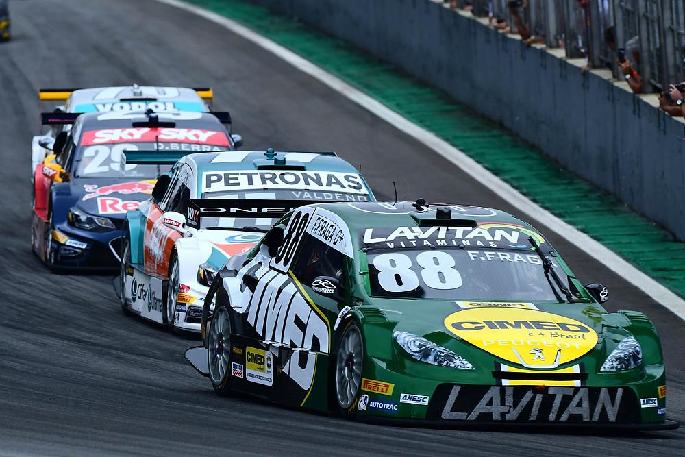 Felipe Fraga é o mais jovem campeão da historia da Stock Car - A Festa do Campeão