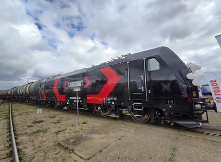 Ferrovia: A Bombardier entrega a primeira locomotiva Traxx para a Cargounit