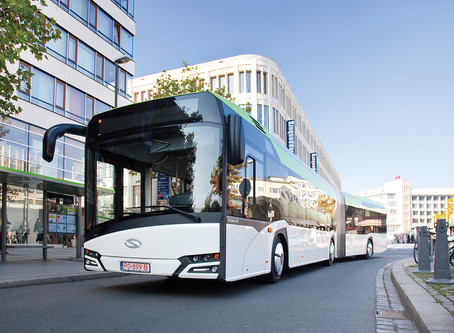 Solaris entrega 120 ônibus Urbino 18 para empresa Egged de Jerusalém