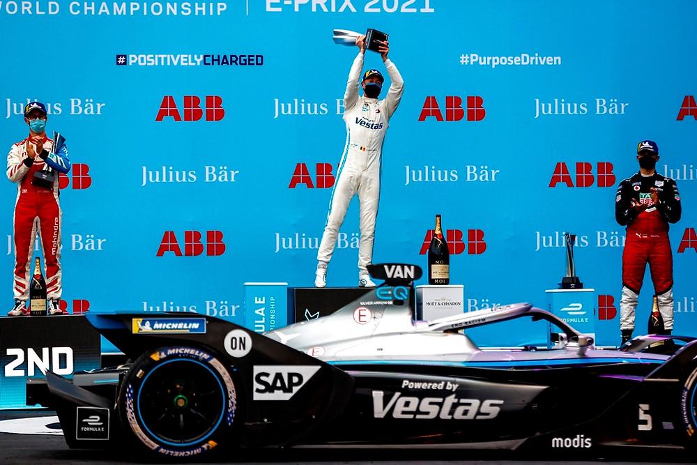 Fórmula E: Vandoorne se recupera e vence o domingo em Roma