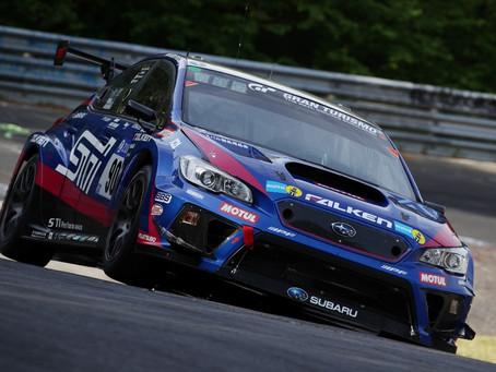 Subaru mais uma vez vence na sua categoria as 24 Horas de Nürburgring