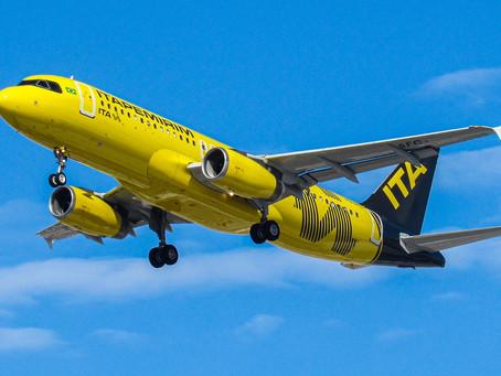 Aviação: Itapemirim Transportes Aéreos incorpora terceira aeronave à sua malha