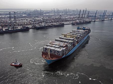 Maersk constrói porta-contêiner neutro em carbono