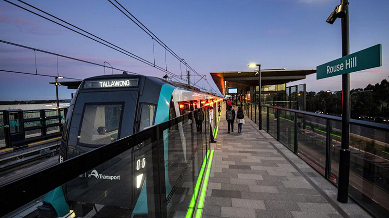 A Alstom fornecerá trens sem maquinista e sistema de sinalização para a ampliação do metrô de Sydney