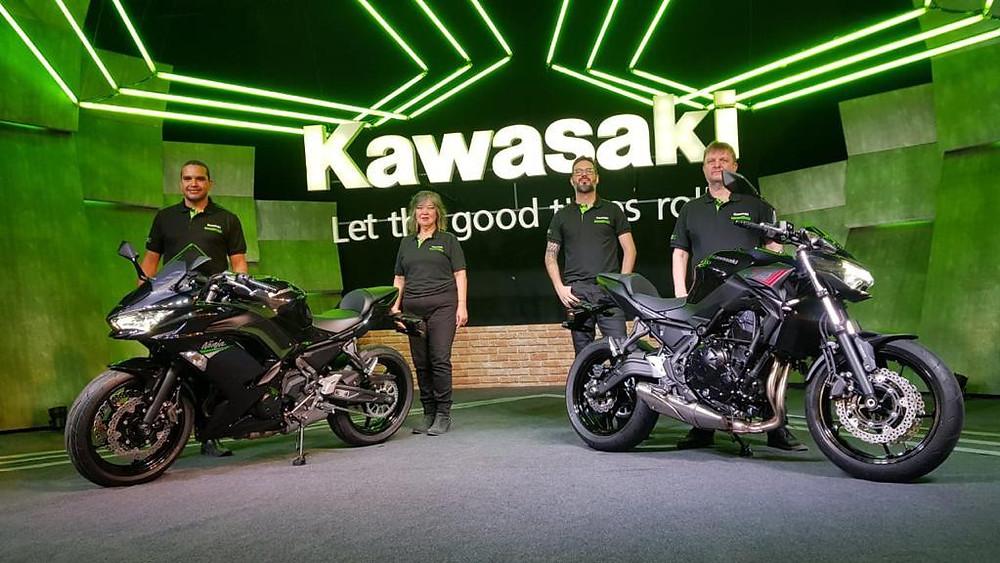 Kawasaki Z650 é apresentada em mais uma Live para os apaixonados por duas rodas