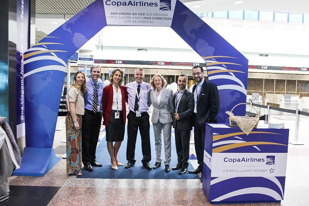 Copa Airlines inicia segunda frequência em Porto Alegre