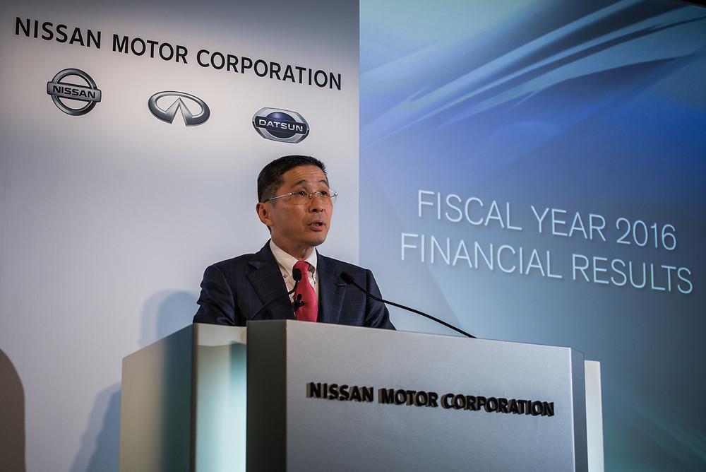 Nissan apresenta resultados do ano fiscal e cresce nos principais mercados