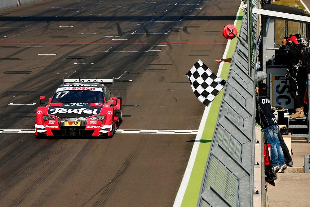 Miguel Molina vence em domínio da Audi no DTM