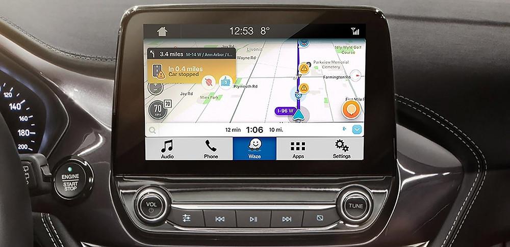 Ford anuncia integração do waze em seus veículos com Sync 3