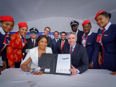 Air Peace assina pedido para três jatos E195-E2 adicionais