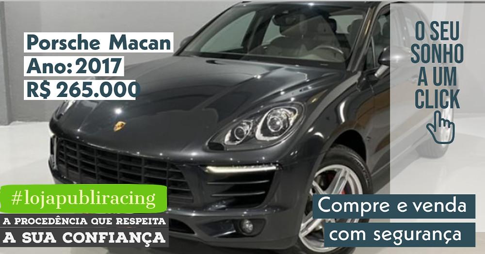 ACESSE #LOJA PUBLIRACING - Porsche Macan - Ano 2017