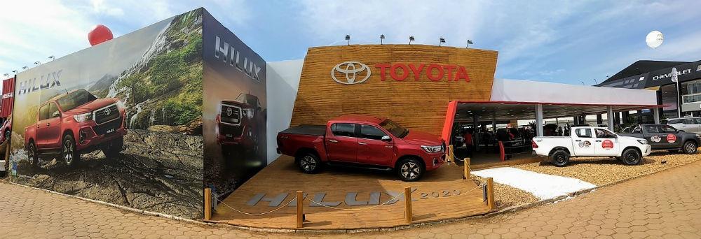 Toyota apresenta novidades de sua linha 2020 durante 42ª Expointer