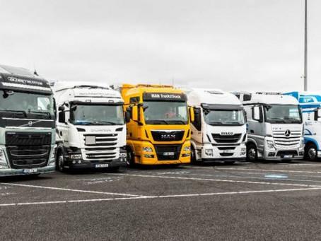 96,4% dos novos caminhões vendidos na Europa em 2020 foram diesel