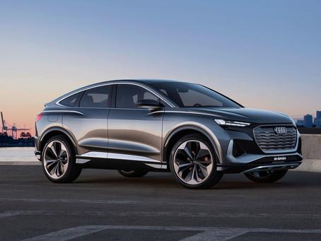 Expressas: Audi Q4 Sportback e-tron chega em 2021
