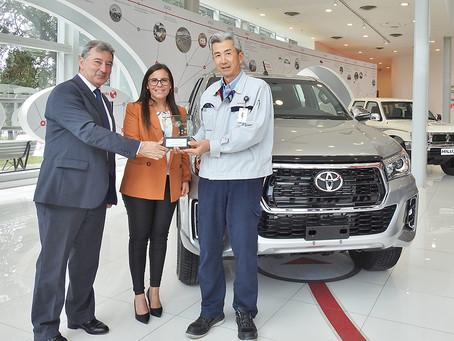 Toyota recebe premiação do Latin NCAP após ótimos resultados na segurança com Hilux e SW4