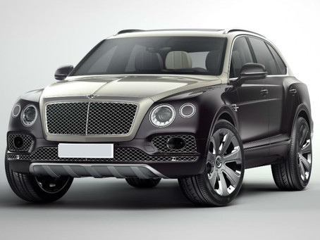 Expressas: Bentley sem motores a combustão interna a partir de 2030