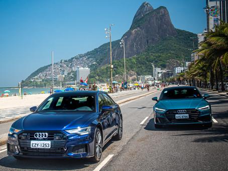 A Audi traz para o mercado brasileiro os novos A6 Sedan e A7 Sportback