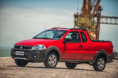Fiat Strada, o comercial leve mais vendido em Agosto