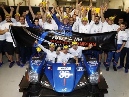 Alpine conquista título mundial na categoria LMP2 do WEC