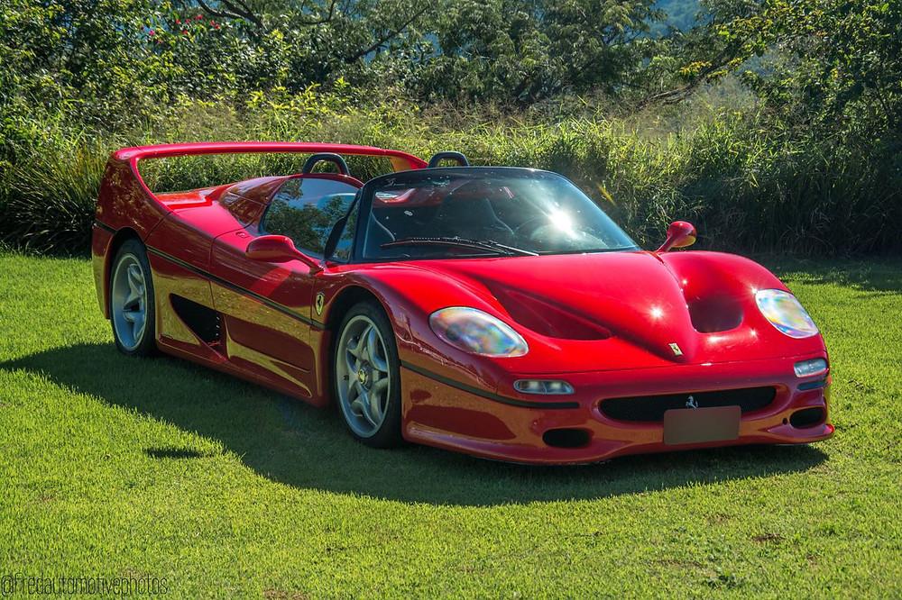 Ferraris F40 e F50 pela primeira vez rodando juntas no Dream Route