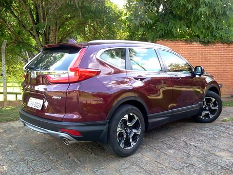 Avaliação: Requinte, espaço e robustez são os destaques do Honda CR-V