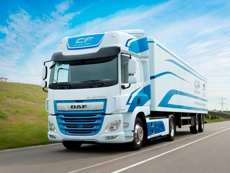 DAF CF Electric percorre 150 mil quilômetros movido a eletricidade na Europa