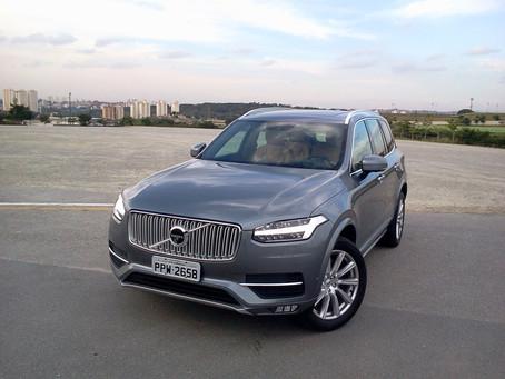 Avaliação: Volvo XC90 Inscription D5, o luxuoso sueco esbanja, segurança, conforto e tecnologia.