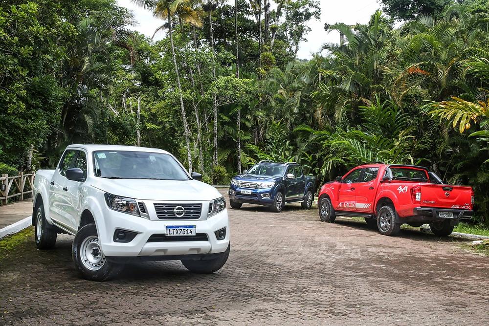 Nissan Frontier, agora fabricada na Argentina, vai estar em destaque na Expodireto 2019