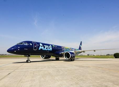 Aviação: Azul retoma voos comerciais para Fernando de Noronha em outubro