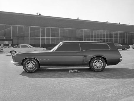 A Station Wagon do Ford Mustang que nunca chegou nas ruas