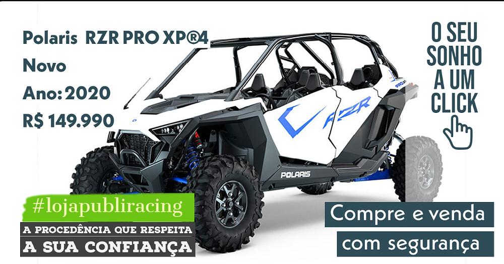 ACESSE #LOJA CLICANDO - Polaris RZR PRO XP4 - NOVO