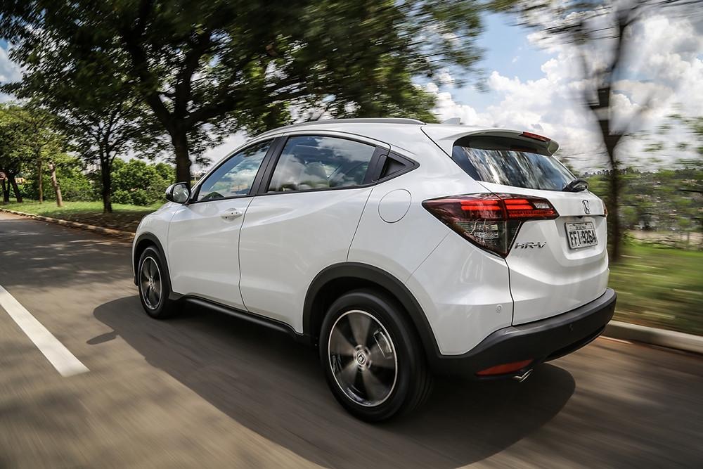Honda sobe o tom no segmento de SUVs com HR-V de motor turbo com 173 cv e teto panorâmico