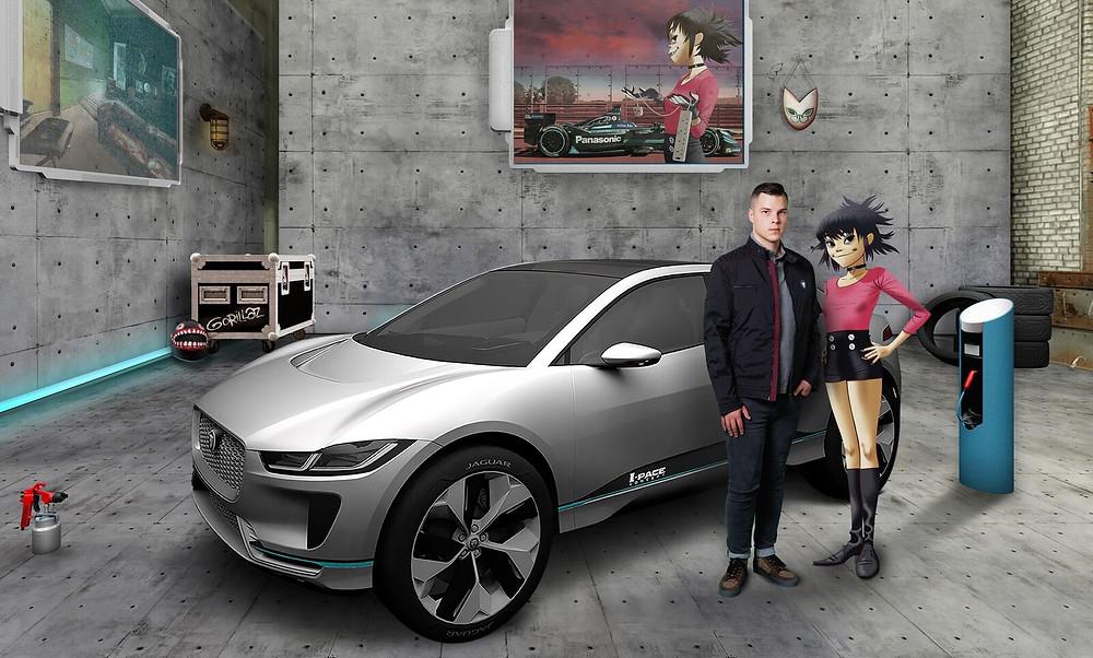 Gorillaz contrata primeiro engenheiro eletrônico para a Jaguar Land Rover. Buscas por mais gênios continuam globalmente.