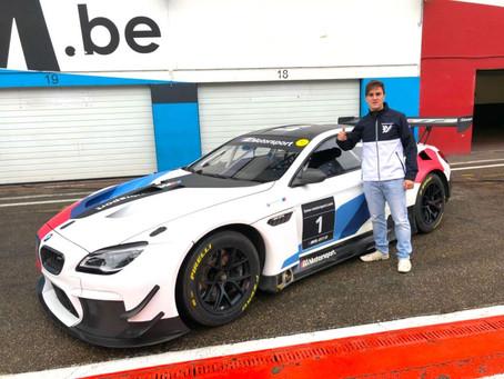 De volta à Europa, Lukas Moraes disputa temporada 2018 do Blancpain GT Series