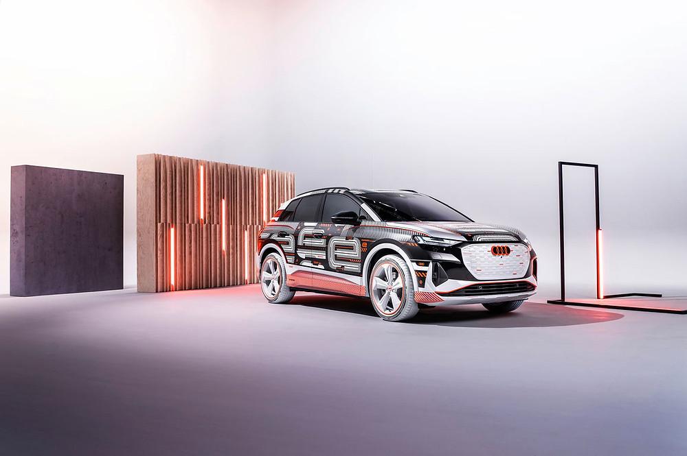 Expressas: No dia 14 e abril Audi faz estreia mundial online do Audi Q4 e-tron