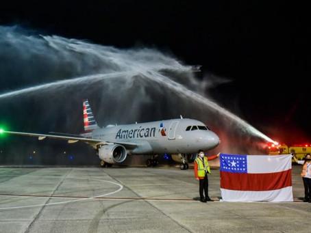 Aviação : American Airlines anunciou retomada de voos diretos entre Manaus e Miami