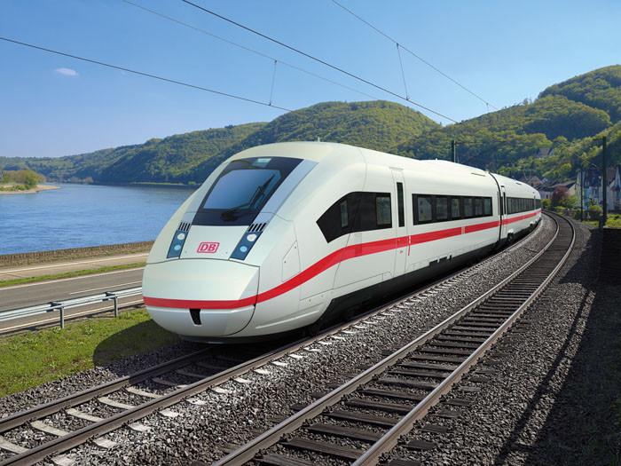 O primeiro ICX da Siemens, já em testes na Alemanha.