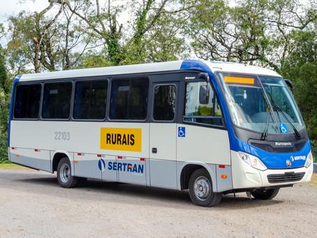 Marcopolo entrega micro-ônibus para a empresa Sertran