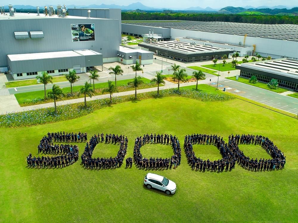 BMW celebra 50 mil automóveis produzidos no Brasil