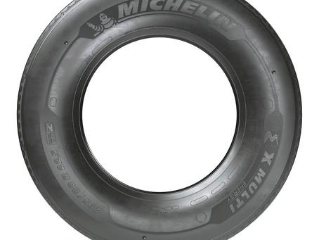 Apresentado o novo pneu para transporte rodoviário Michelin 295/80 R22.5 X Multi Energy Z
