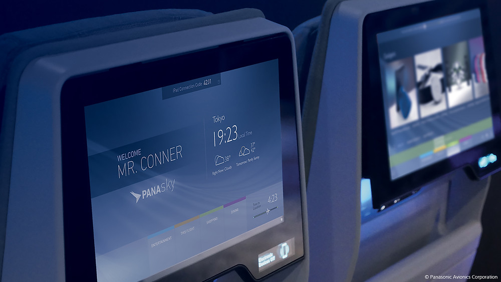 Embraer escolhe Panasonic para soluções de IFE para o E-Jets E2