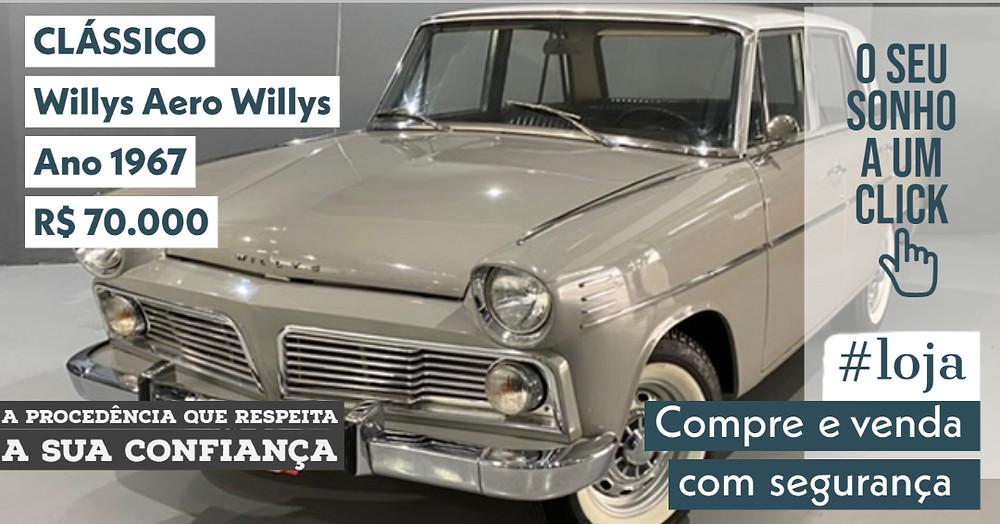 A #LOJA PUBLIRACING - Willys Aero Willys - Ano 1967